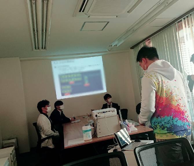 東京ITカレッジでのオンライン講座の様子