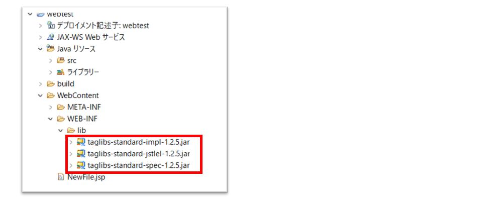 jarファイルの配置方法